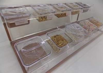 Display Expositor de Cereais matinais